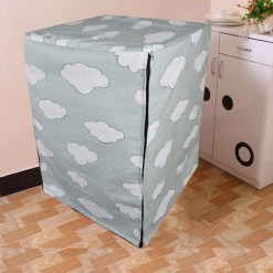 Front load washing machine cover 116