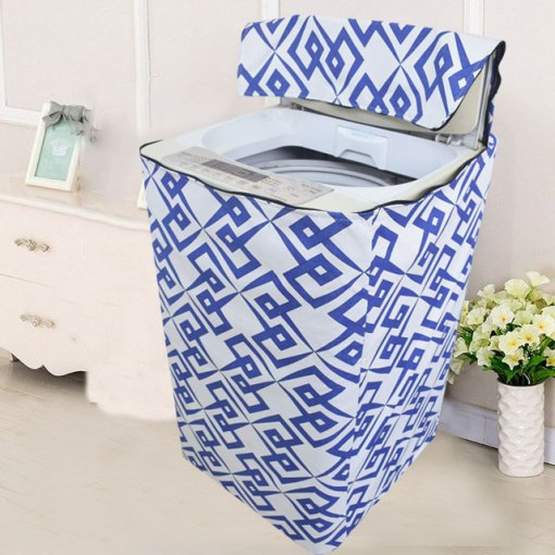 Top load washing machine cover 118