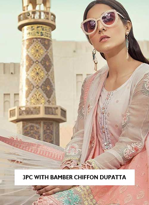 bamber embroidered dupatta lawn collection 2021 latest