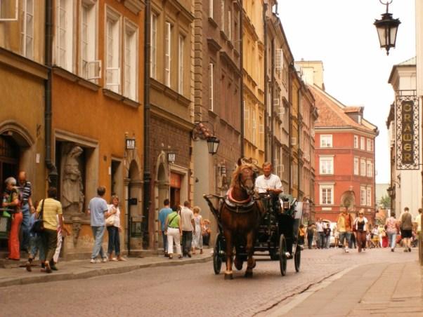 zwiedzanie Starego Miasta w Warszawie, wycieczka jednodniowa po Warszawie