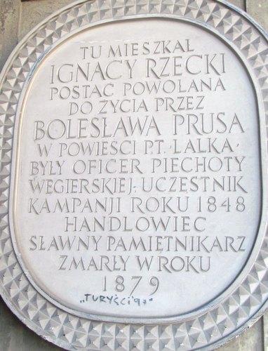 """Szlakiem """"Lalki"""" Bolesława Prusa"""