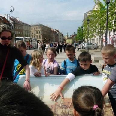 wycieczki szkolne po Warszawie, Warszawa przewodnicy