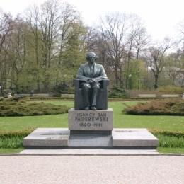 Pomnik J.I.Paderewskiego