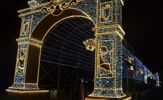 Świąteczne iluminacje Warszawy – Warszawa nocą