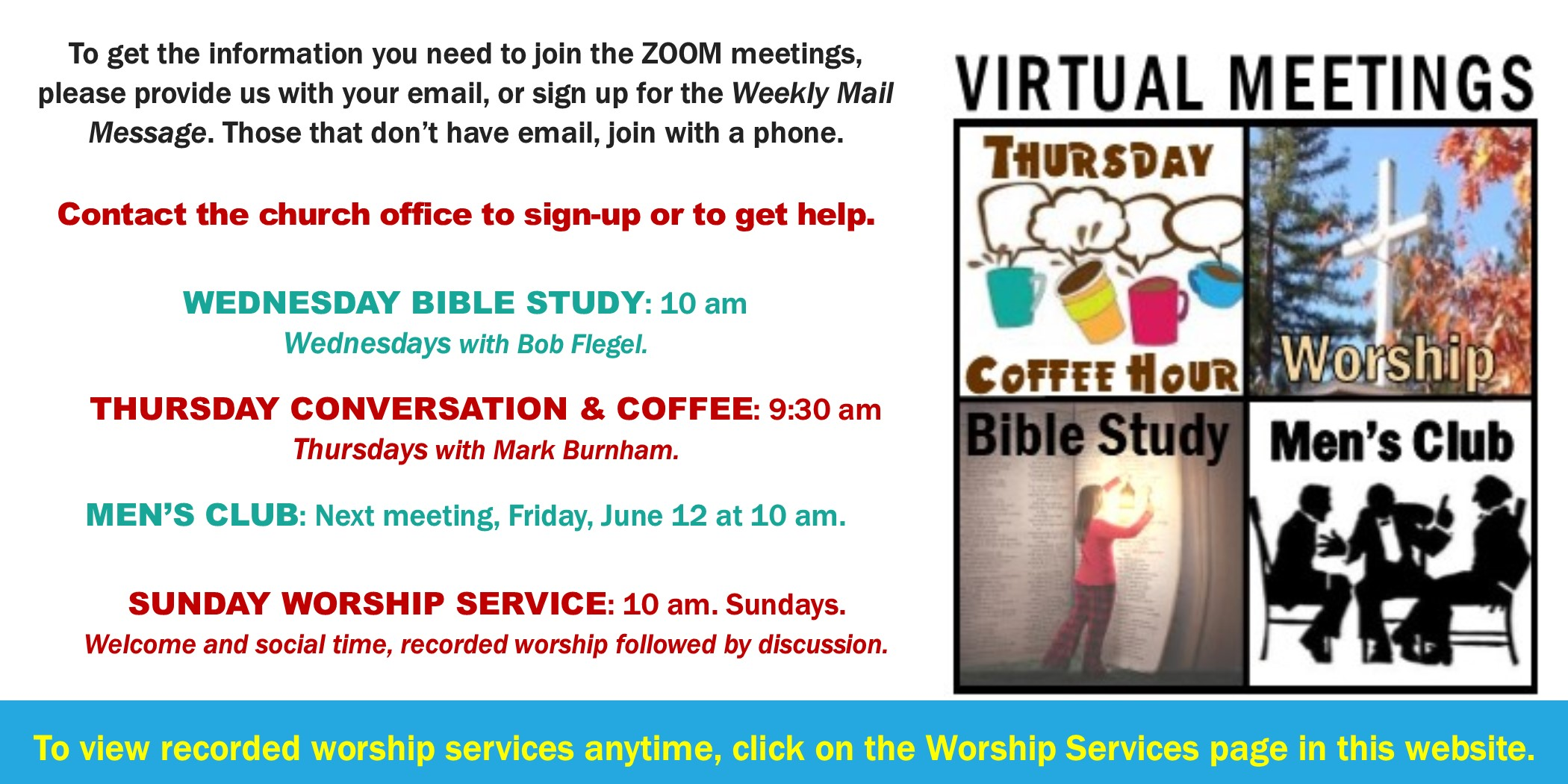 2020 6 Virtual Meetings