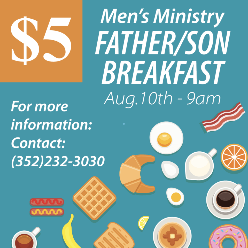 Men's Ministry Father/Son Breakfast