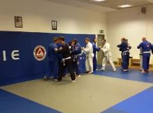 Gracie Barra Belfast Handshake after each class