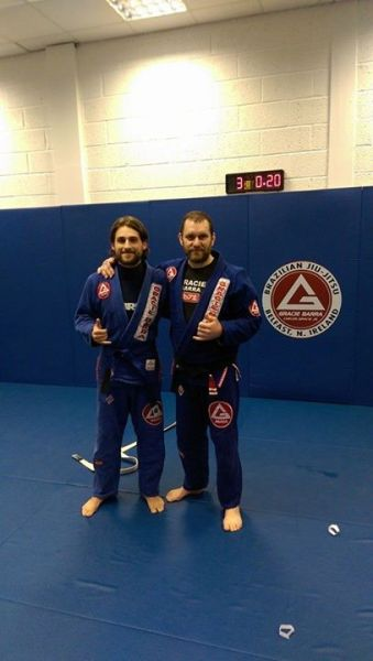 Mike Summers Gracie Barra Belfast Blue Belt January 2015