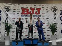Ciaran Mcilvenney Bronze at the 2016 British Open Gracie Barra Belfast