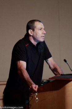Carlos Gracie Jr. speaking at last GB Conference held in California.