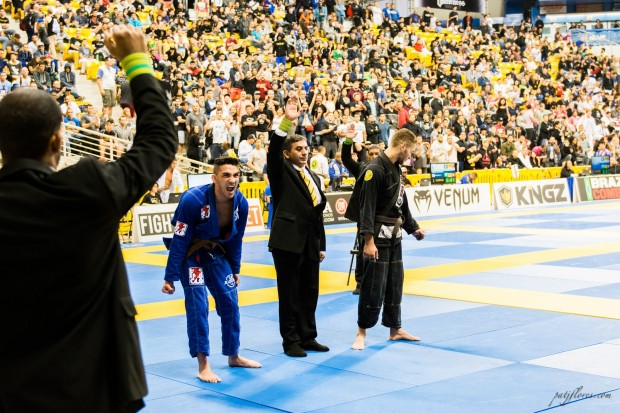 Edwin Najmi wins his division as a brown belt.