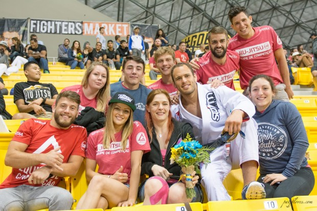 Gracie Barra Nottingham and Birmingham - Top row (Laura Barker, Bradley Hill, Sean Coates, Xabi Eguskiza Prado, and Jamie Paxman). Bottom row (Oliver Lovell, Vanessa English, Gret Zoeller, Victor Estima, and Leoni Munslow).