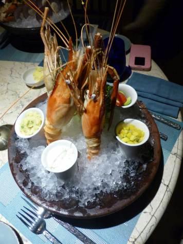 Riverside-cafe-four-seasons-Bali-at-Sayan-prawns