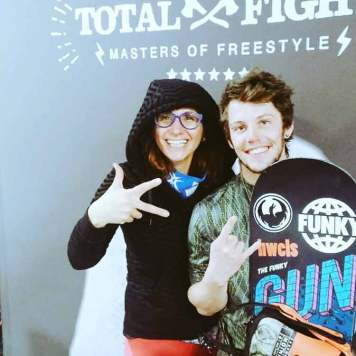 Gracie Opulanza TOtalfight 2016 Eyewear Selfie Shot (4)