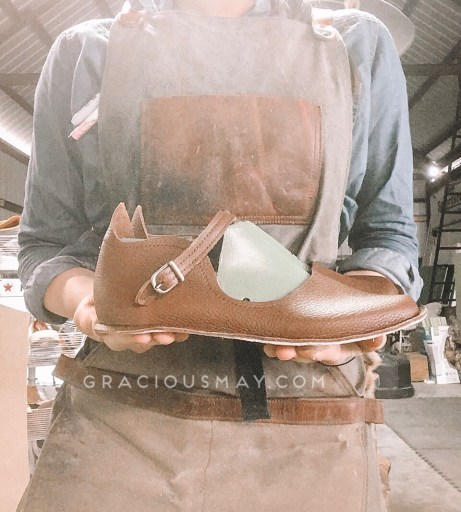 American Made in USA Ladies Leather Shoes