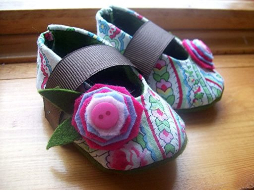 Gracious May made in USA baby Shoes from 2008