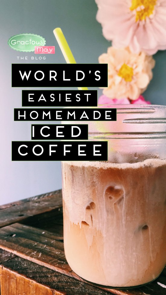 Easy Homemade Iced Coffee Recipe Tutorial