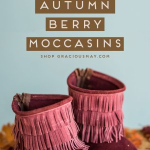 Fall Moccasin Boots for Toddler Girls