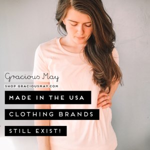 Made in USA Clothing Women