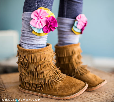 Toddler Moccasin Boots