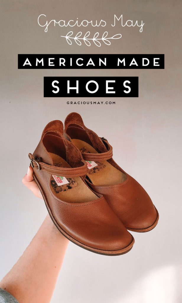 American Made Shoes by Gracious May