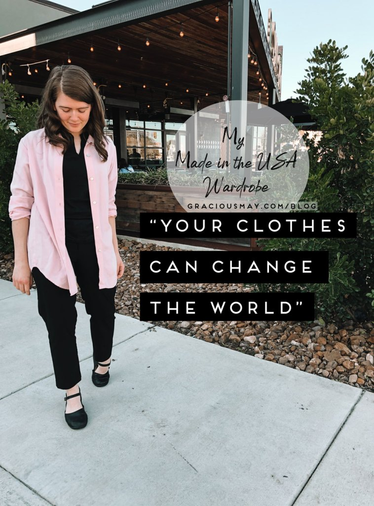 Quitting fast fashion, sustainable fashion