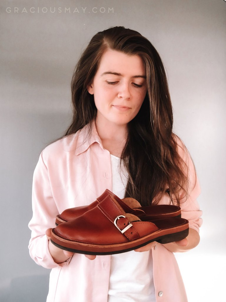 Gracious May Artisanal Leather Shoes for Women