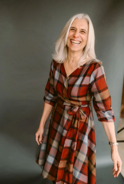 JANIE PLAID WRAP DRESS: WOMEN'S DRESSES MADE IN THE USA