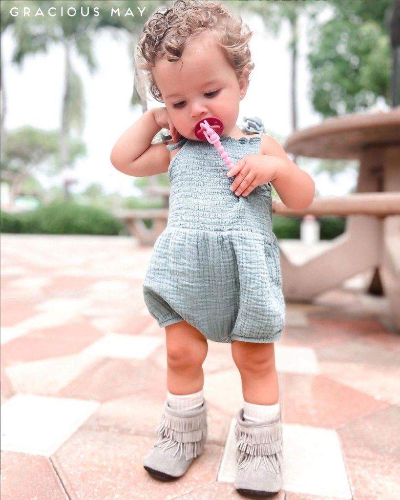 Toddler Girls Fringe Boots Made in the USA