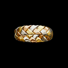 Tri Color Hand Woven Band