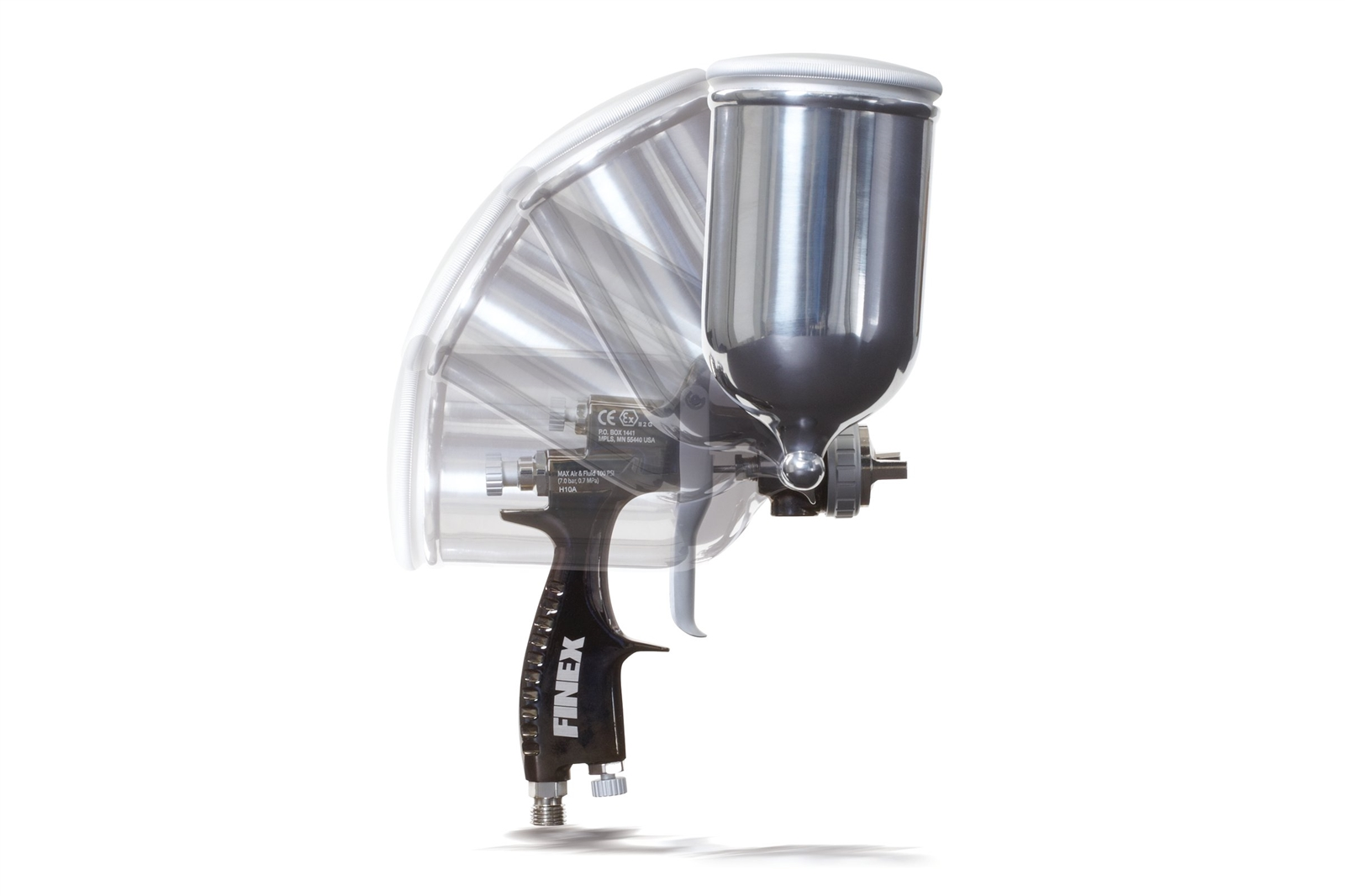 Gravity Feed Cup Gun