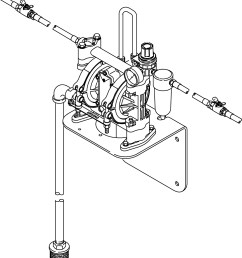 husky 307 series pre mixed windshield wash solvent and coolant dispense diaphragm pump package [ 1444 x 1600 Pixel ]