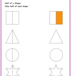 2nd Grade Fractions Worksheets  www.grade1to6.com [ 1122 x 793 Pixel ]