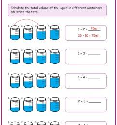 Measuring Liquid Volume Worksheets www.grade1to6.com [ 1122 x 793 Pixel ]