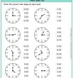 Time Worksheets Grade 3 www.grade1to6.com [ 1122 x 793 Pixel ]