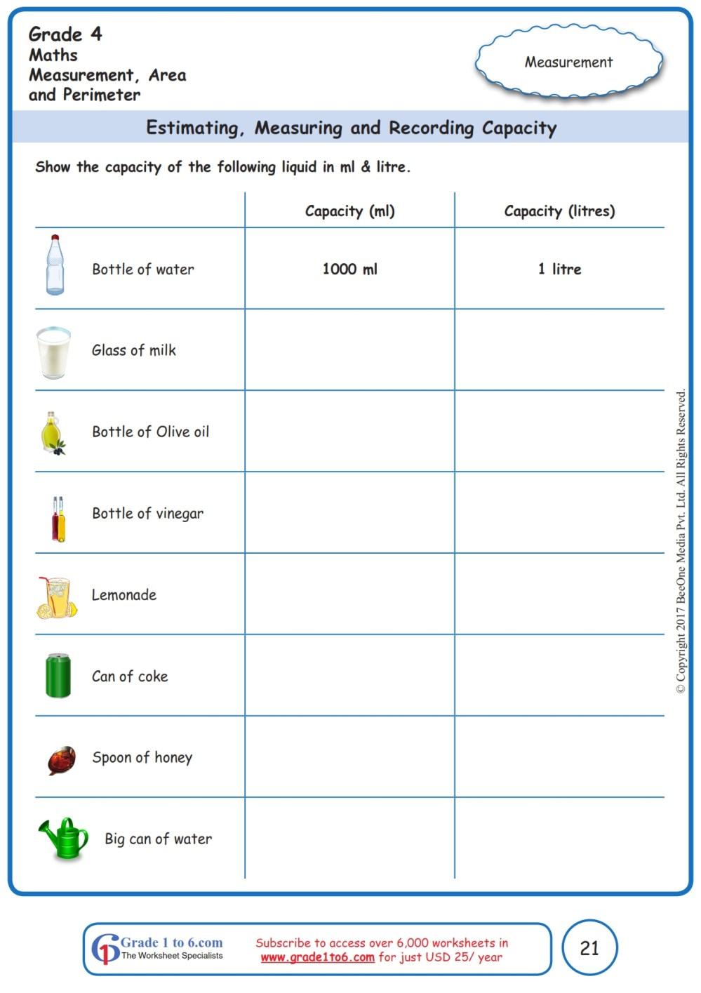 medium resolution of Measuring Terms Worksheet   Printable Worksheets and Activities for  Teachers