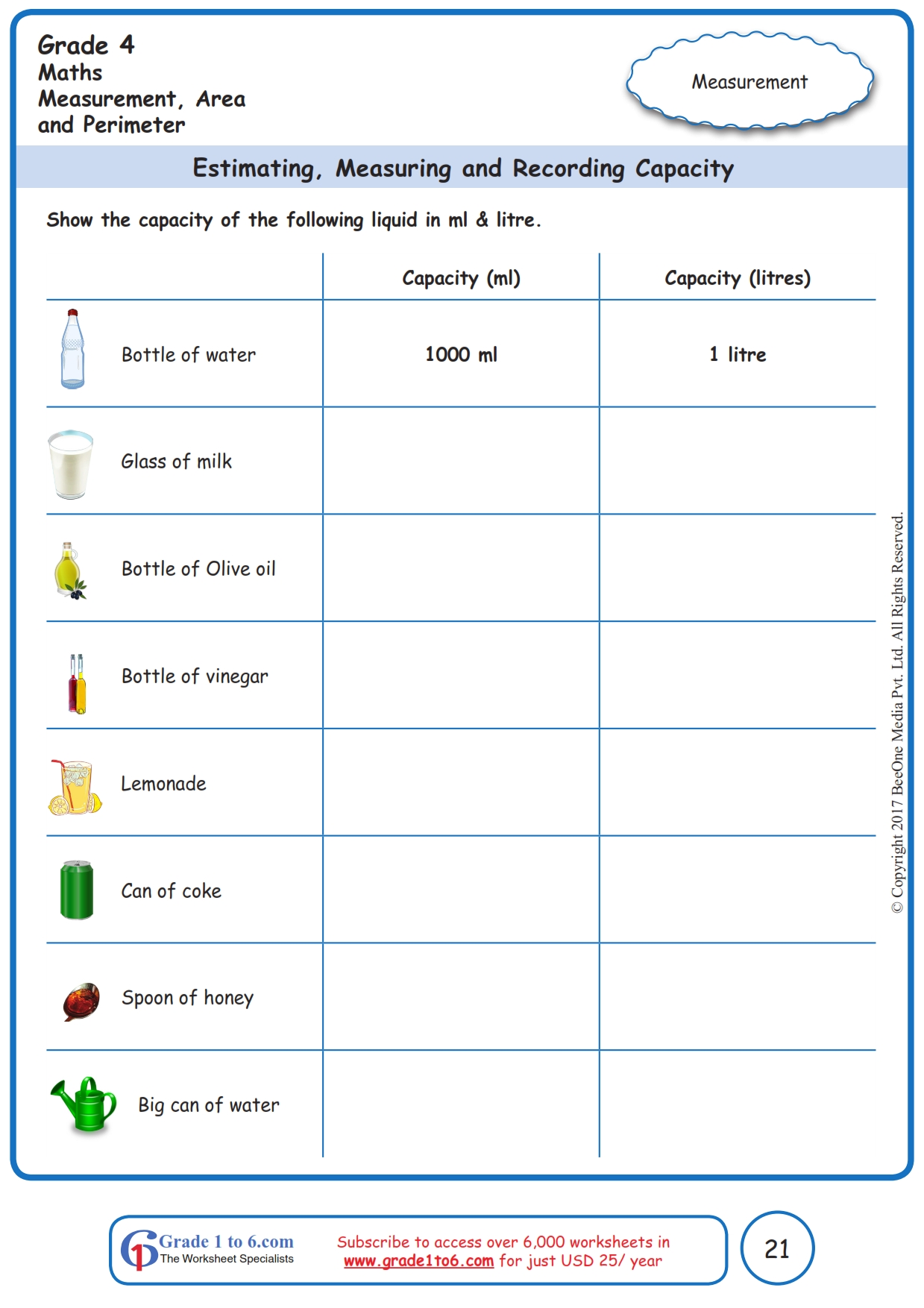 hight resolution of Measuring Terms Worksheet   Printable Worksheets and Activities for  Teachers
