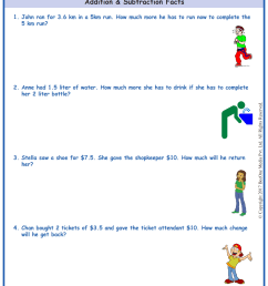 Marketing Math Worksheets   Printable Worksheets and Activities for  Teachers [ 1754 x 1239 Pixel ]