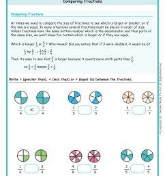 Grade 6 Comparing Fractions Worksheets www.grade1to6.com [ 2339 x 1654 Pixel ]