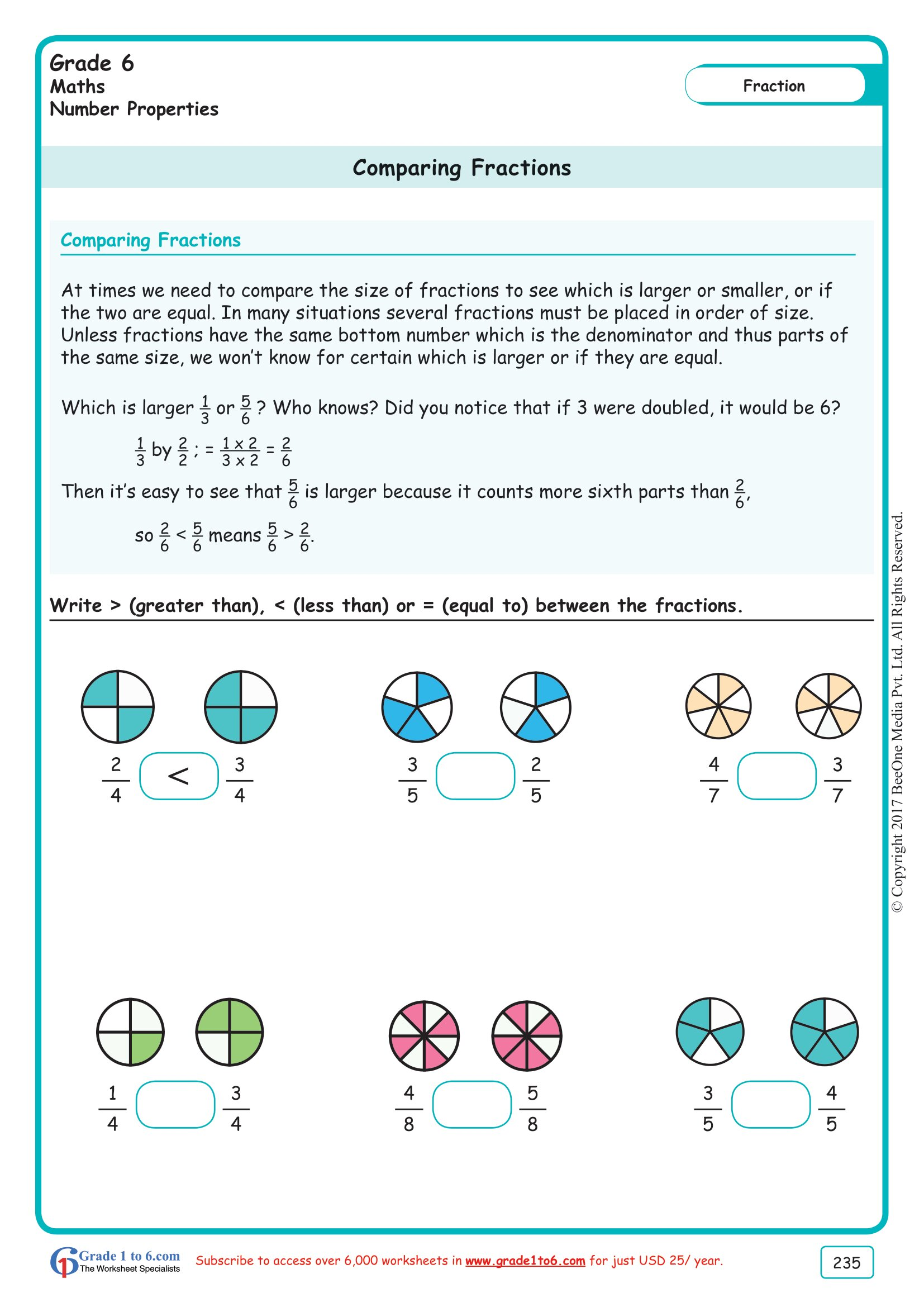 hight resolution of Multiplying Mixed Fractions Worksheets 6th Grade   Printable Worksheets and  Activities for Teachers