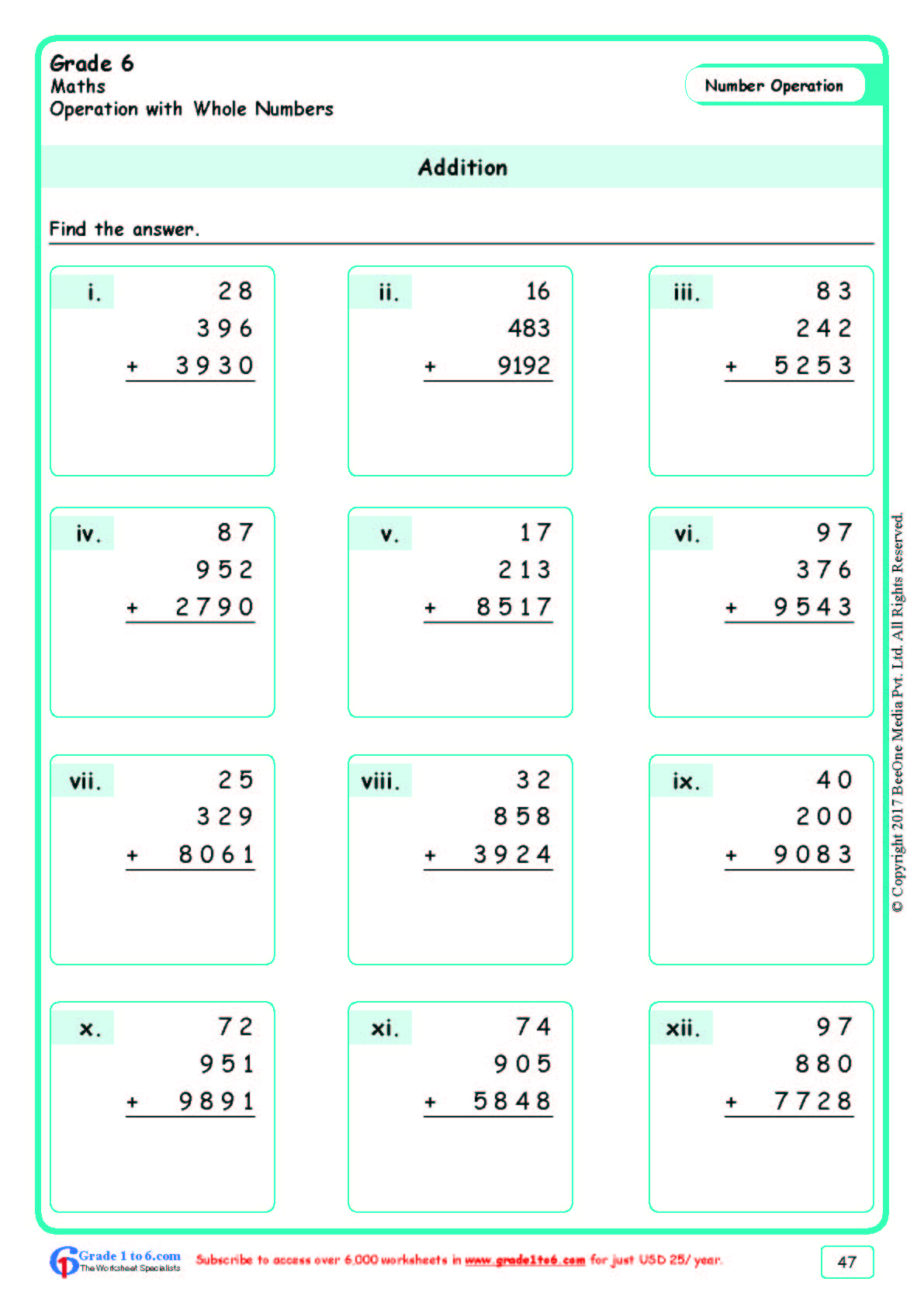 hight resolution of Marketing Math Worksheets   Printable Worksheets and Activities for  Teachers