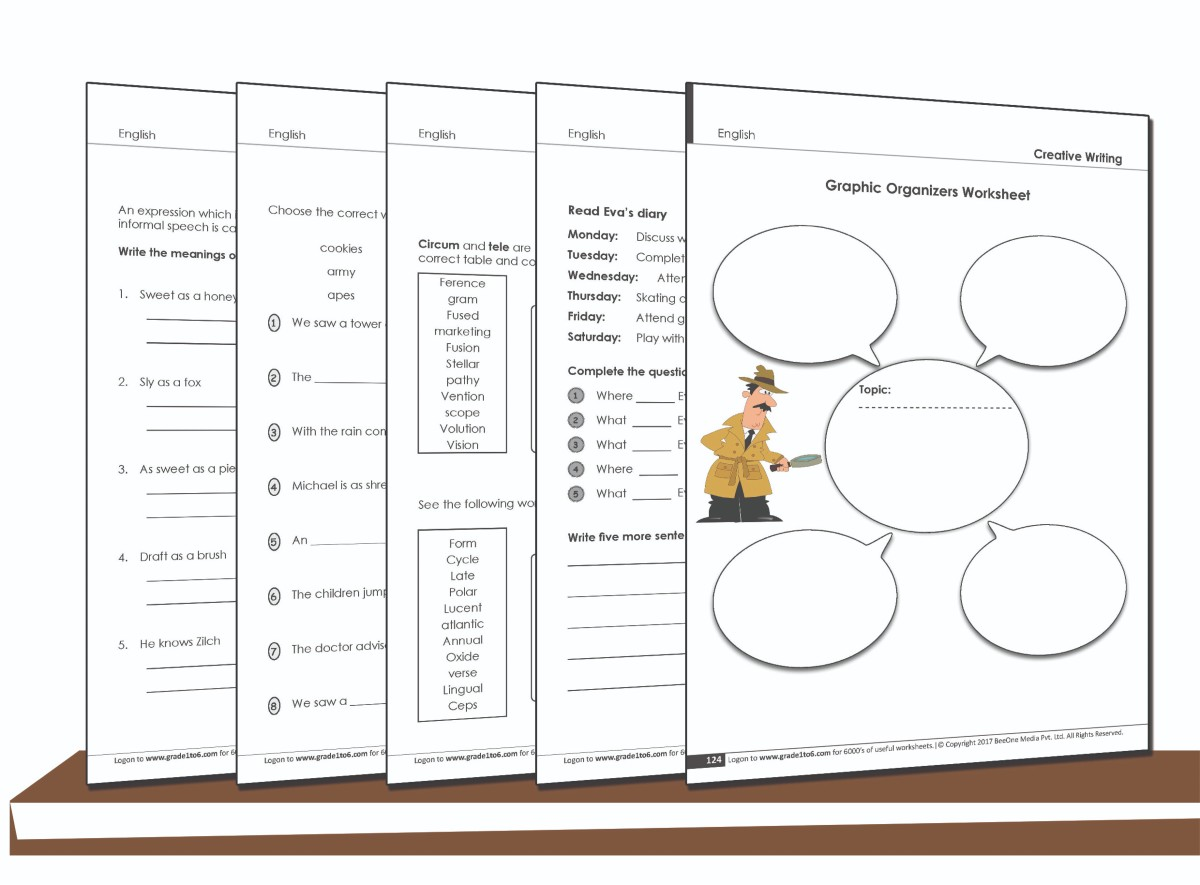 hight resolution of 6th Grade free English Worksheets   www.grade1to6.com