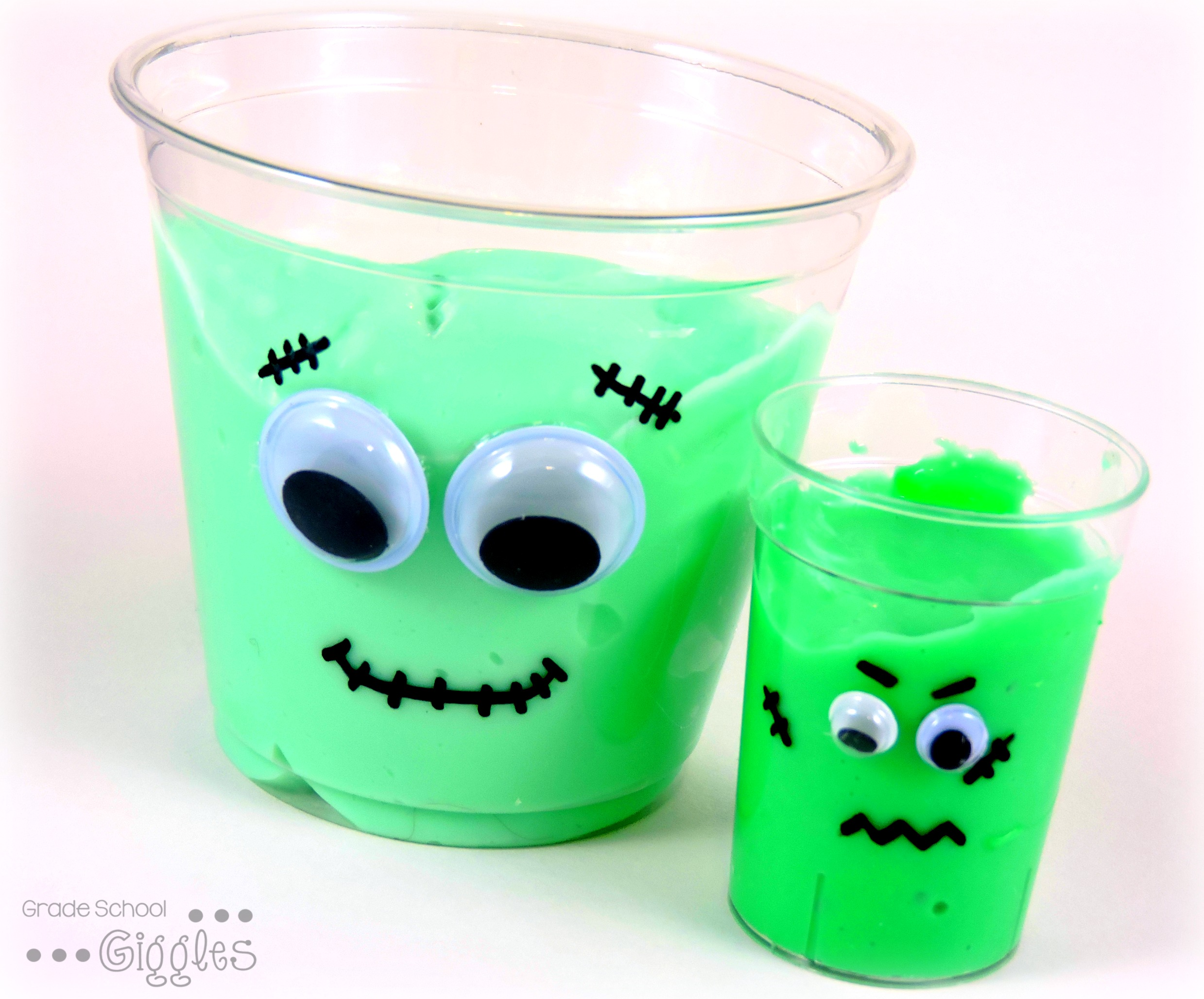 Make Your Own Silly Putty Goo Franken Slime Project
