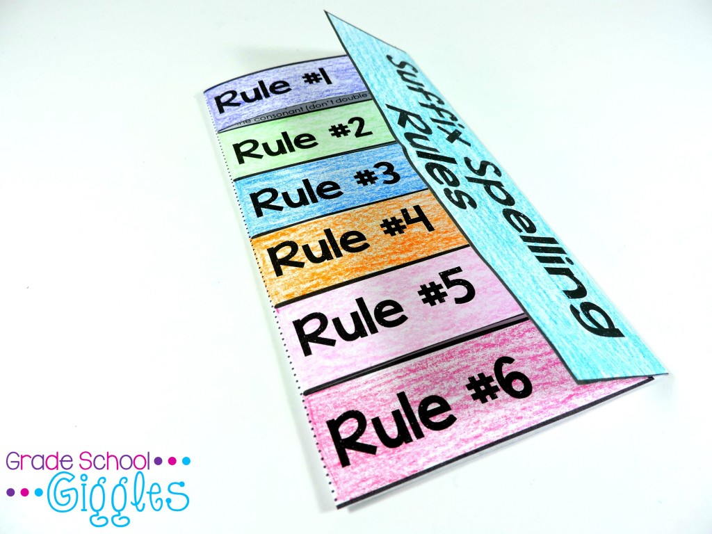 hight resolution of 5 Ways to Teach Suffix Spelling Rules or Any New Concept - Grade School  Giggles
