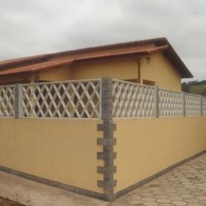 Grade de concreto Losango