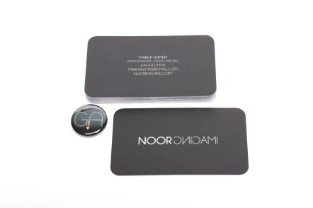 Noor Imaging Business Card