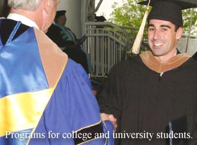 university cap gown academic