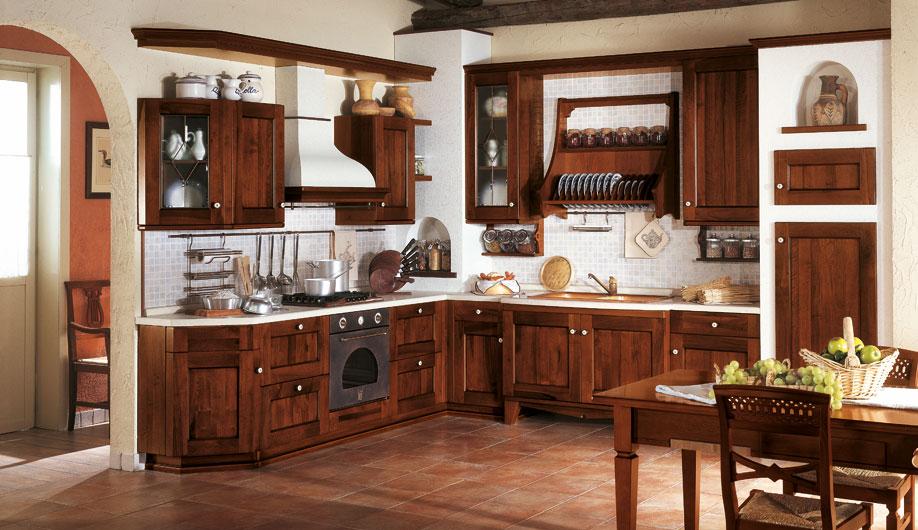 Klasine kuhinje od punog drveta