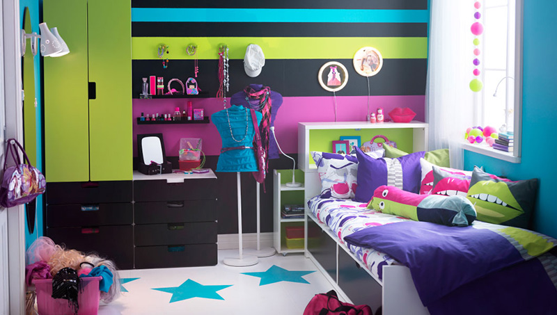 Ikea deije sobe Ideje i realizacija