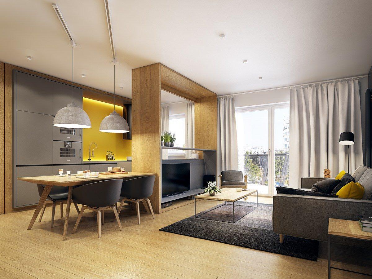 Gde postaviti TV ako je kuhinja u sklopu dnevne sobe